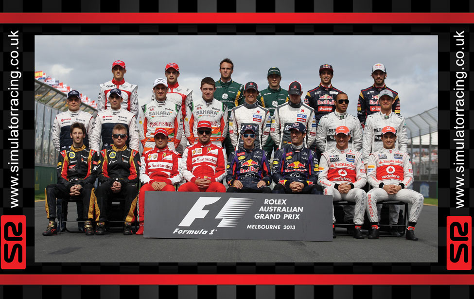 F1 2013 Drivers 10' Banner